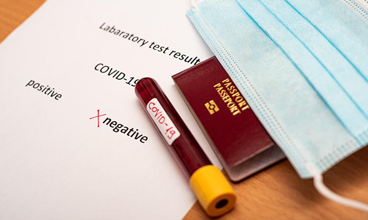 Airline passengers need to produce test results showing they have been tested for Covid. Are vaccination results next?